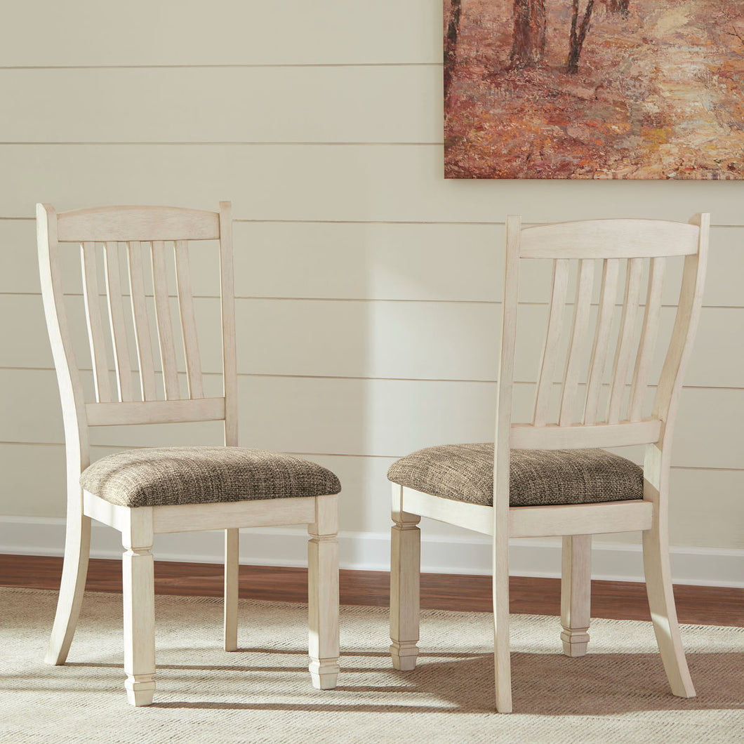 Bolanburg Two-tone Dining UPH Side Chair (Set of 2)