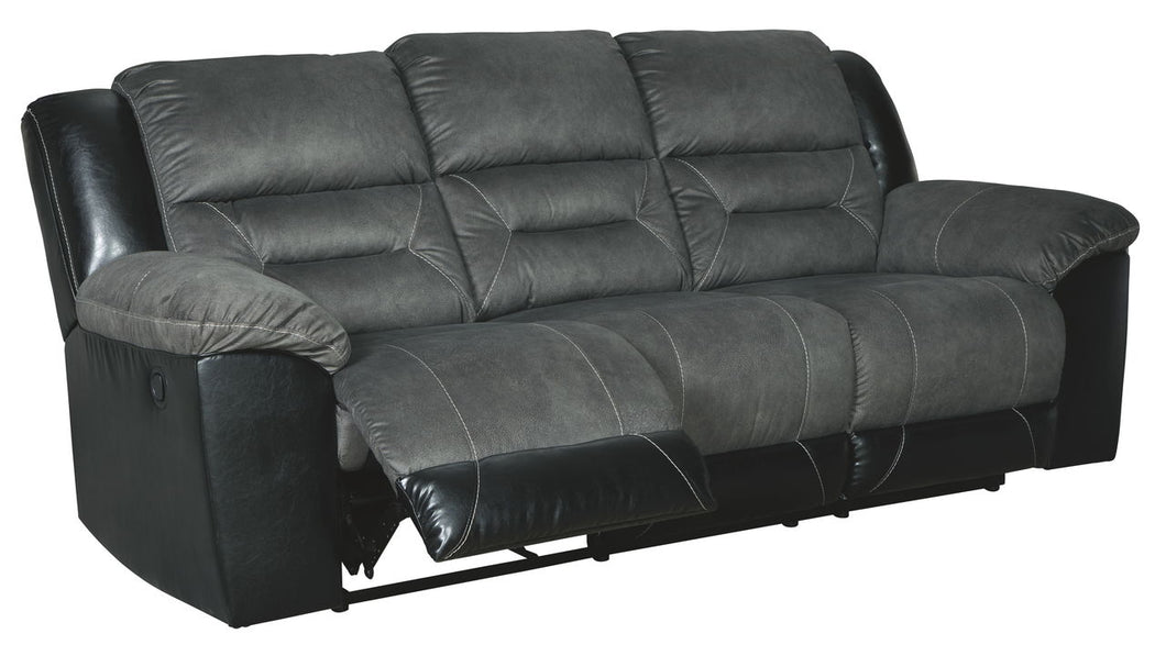 Earhart Slate Reclining Sofa/Couch