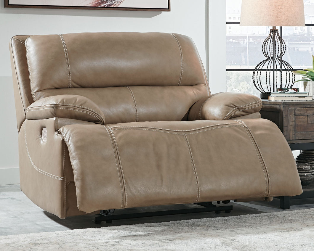 Ricmen Putty Wide Seat Power Recliner