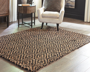 Broox Natural/Black Large Rug