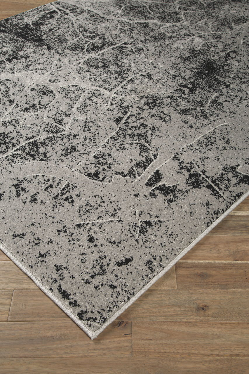 Cailey Black/Gray Large Rug