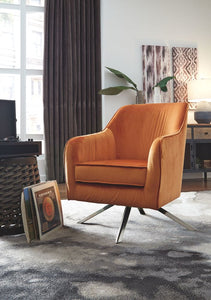 Hangar Orange Accent Chair