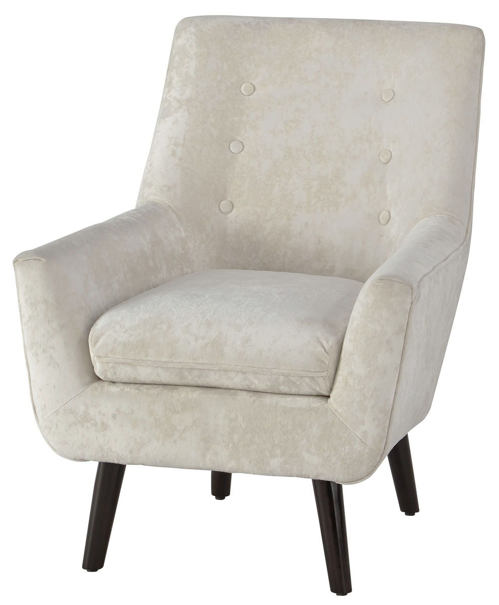 Zossen Ivory Accent Chair