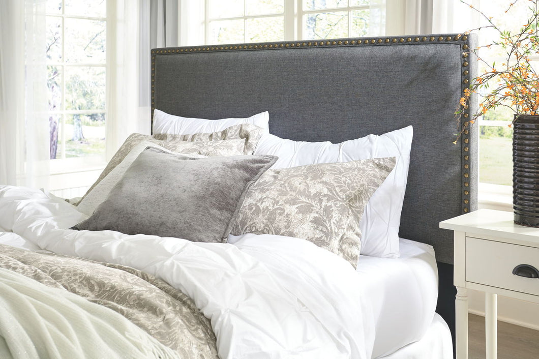 Chasebrook Gray Queen/Full Upholstered Headboard