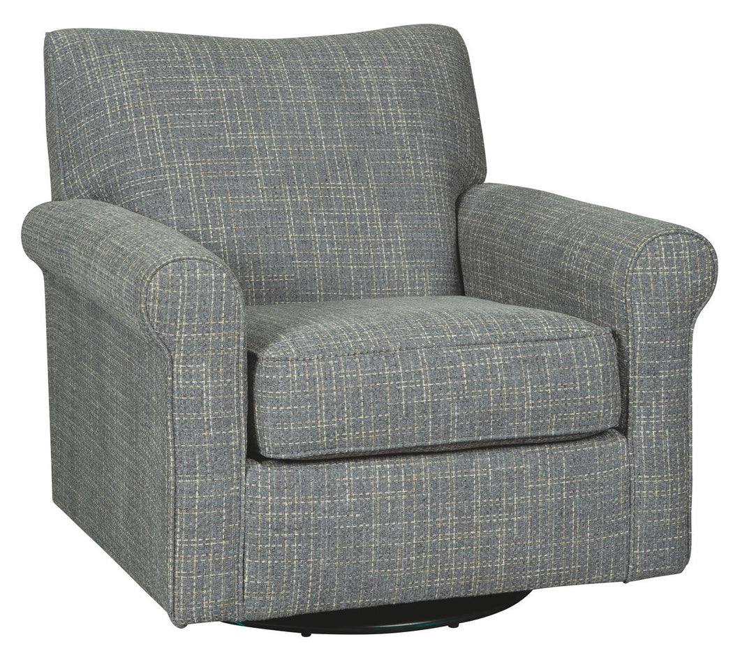 Renley Ash Swivel Glider Accent Chair