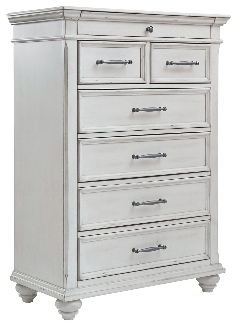 Kanwyn Whitewash Chest