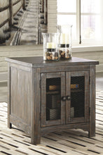 Load image into Gallery viewer, Danell Ridge Brown Rectangular End Table