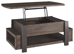 Vailbry Brown Lift Top Cocktail Table