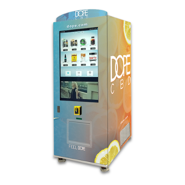MODERN DOPE VENDING MACHINE