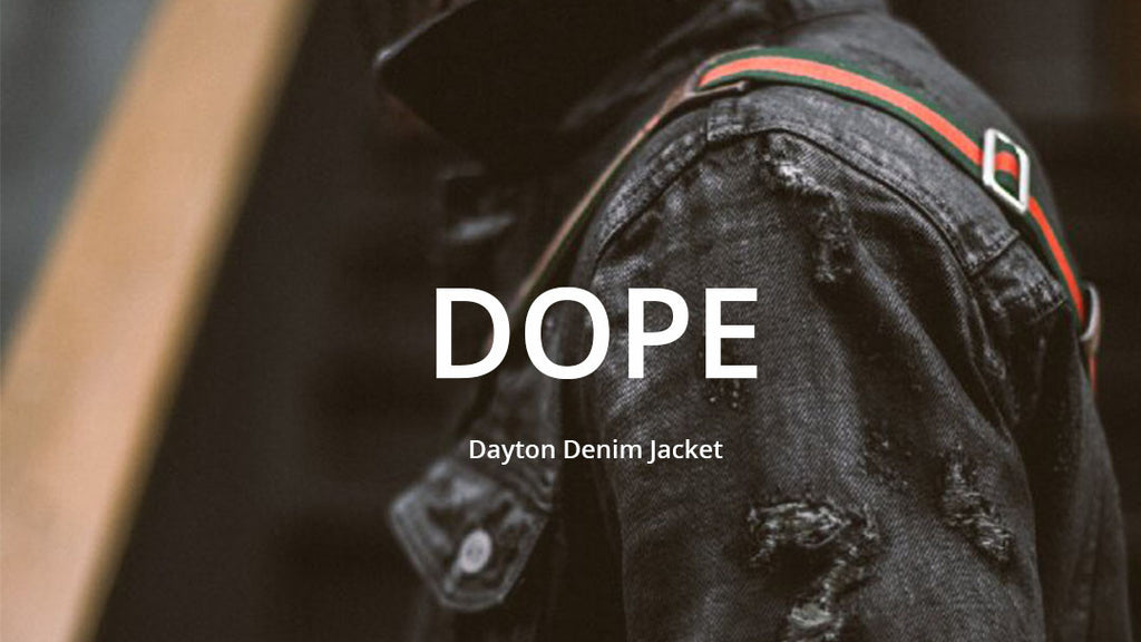 dope premium men's denim