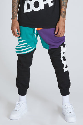 DOPE Blockboy Joggers #purple