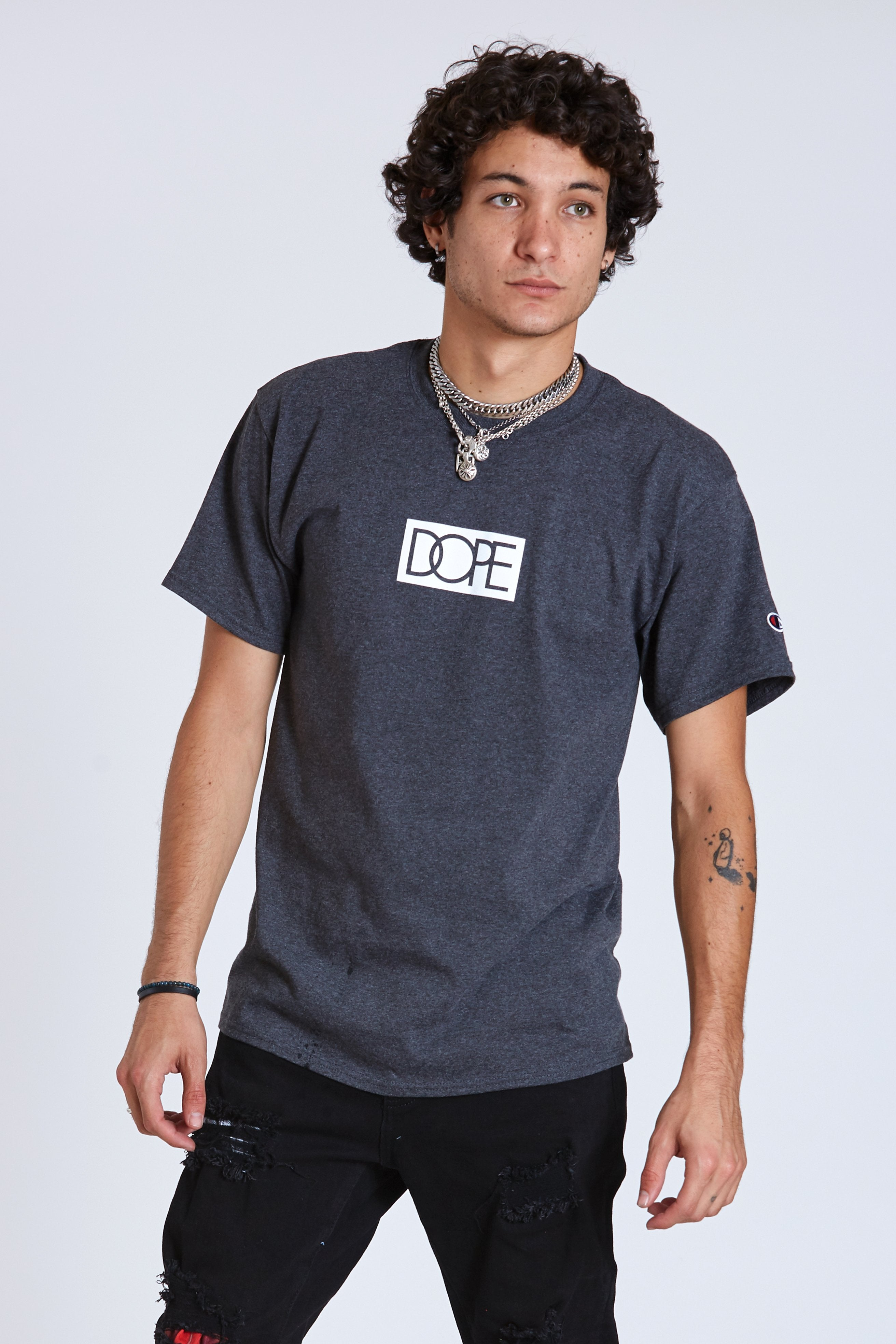Dope Bogo Champion Tee #Grey
