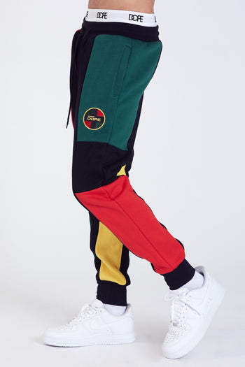 DOPE Crossroad Joggers #Red/Green