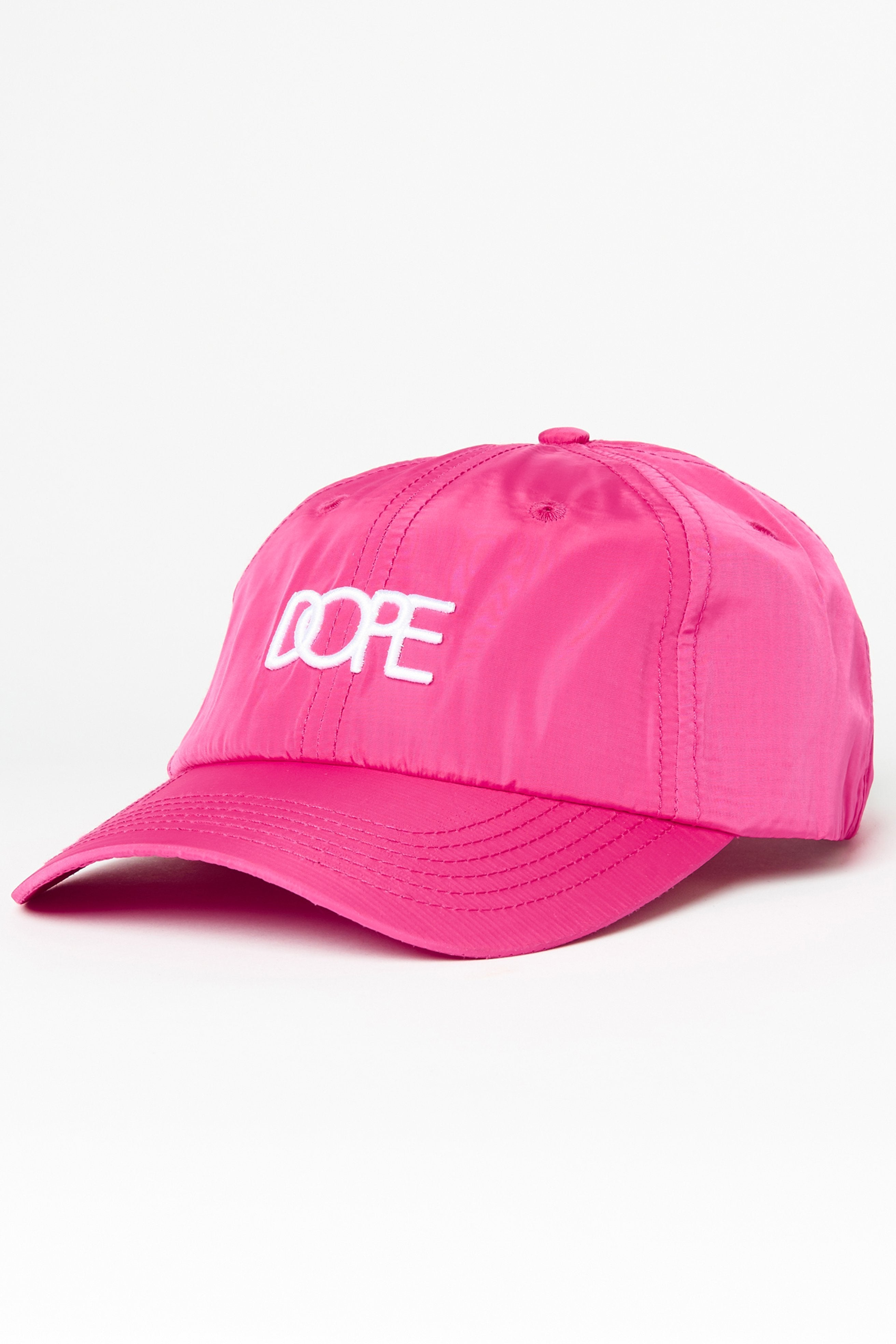 DOPE Core Dad Hat #Hot Pink