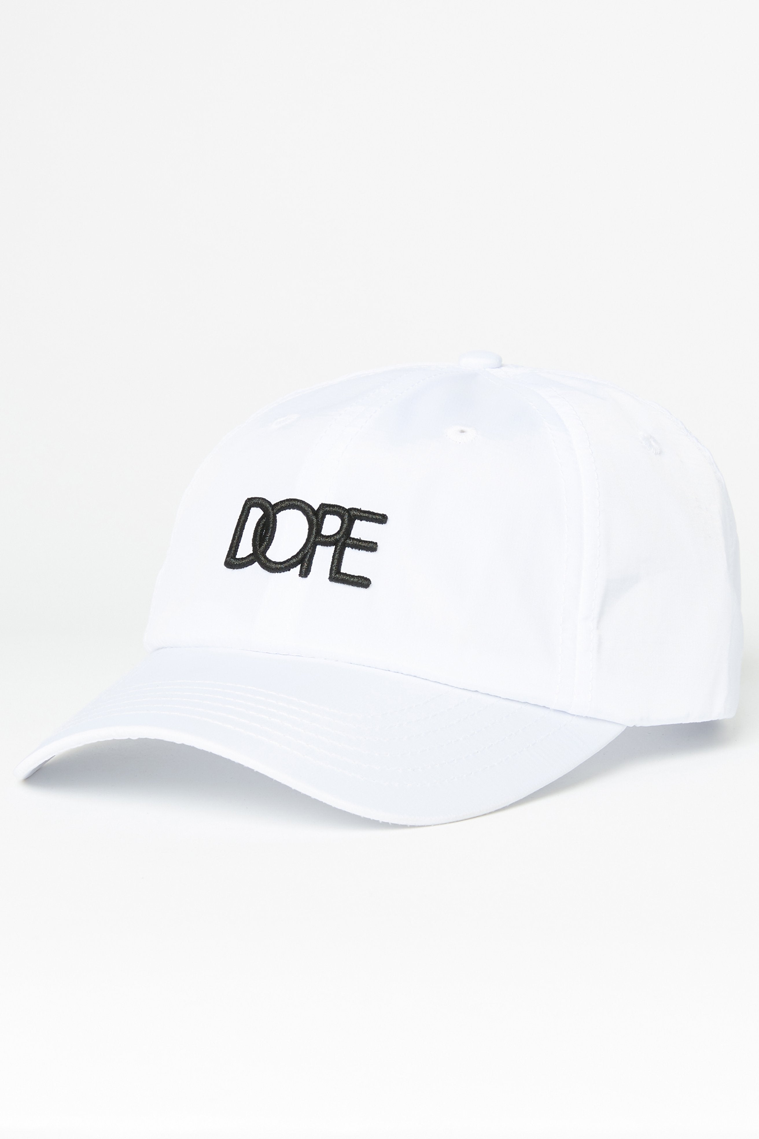DOPE Core Dad Hat #White