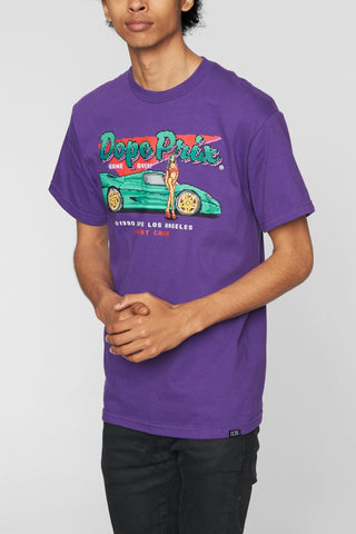 DOPE Game Over Tee #Purple