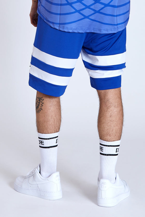 DOPE Diego Soccer Shorts #Royal