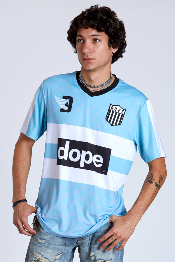 DOPE Soccer Diego Jersey #Blue