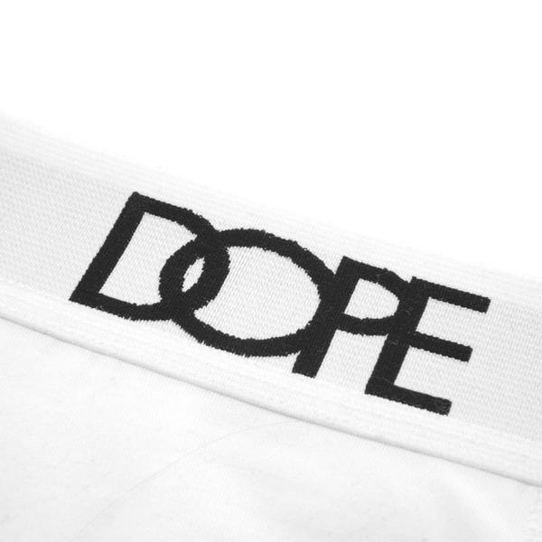 DOPE Logo Boxer Briefs (2-pack) #White