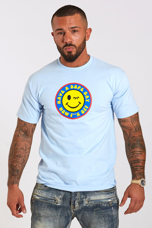 DOPE Dope Day Tee #Powder Blue