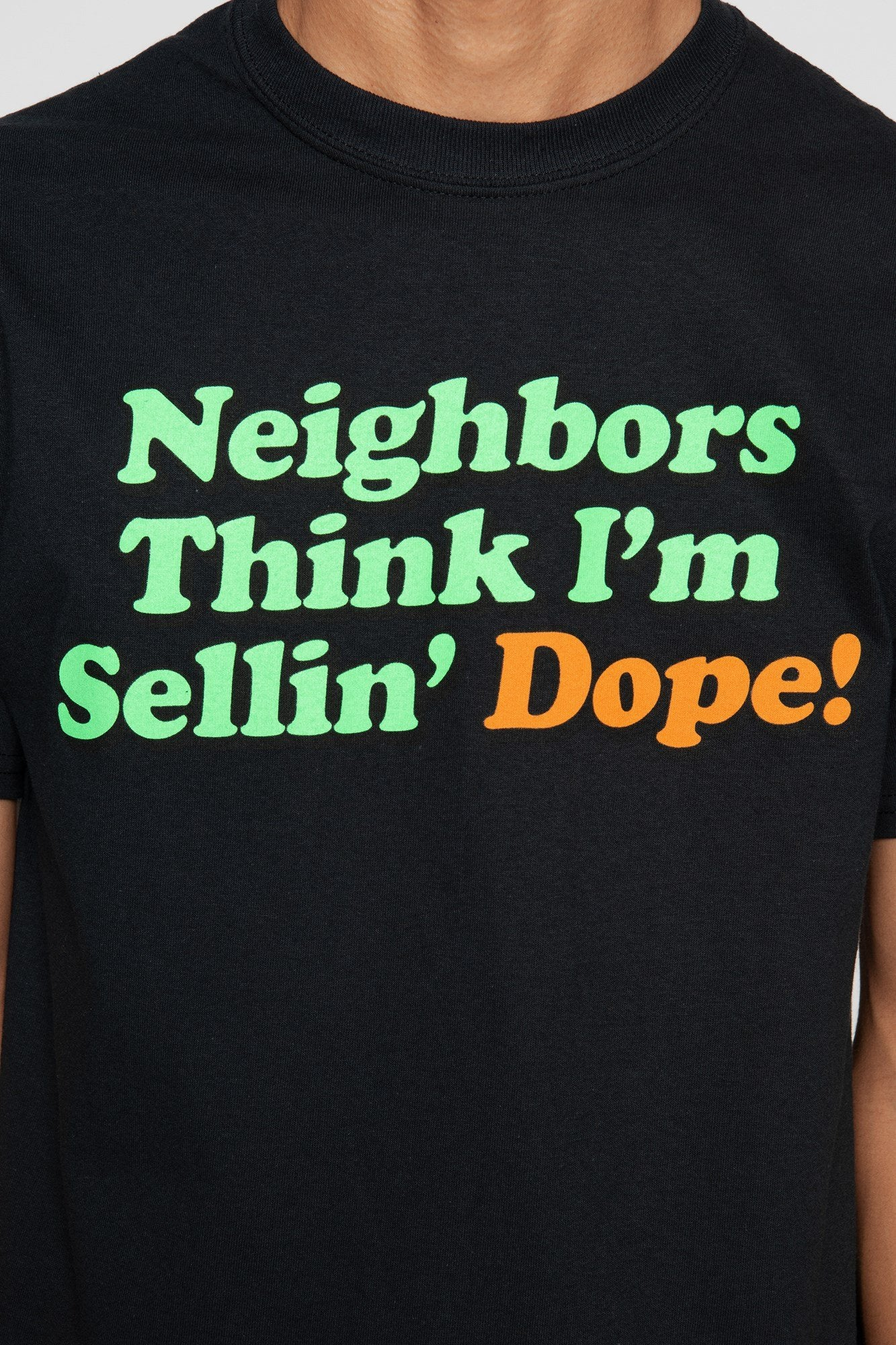 DOPE Neighbors Tee #Black