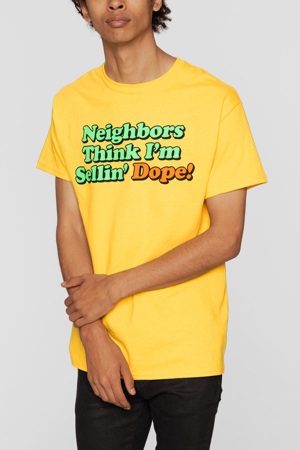 DOPE Neighbors Tee #Gold