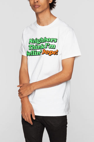 DOPE Neighbors Tee #White