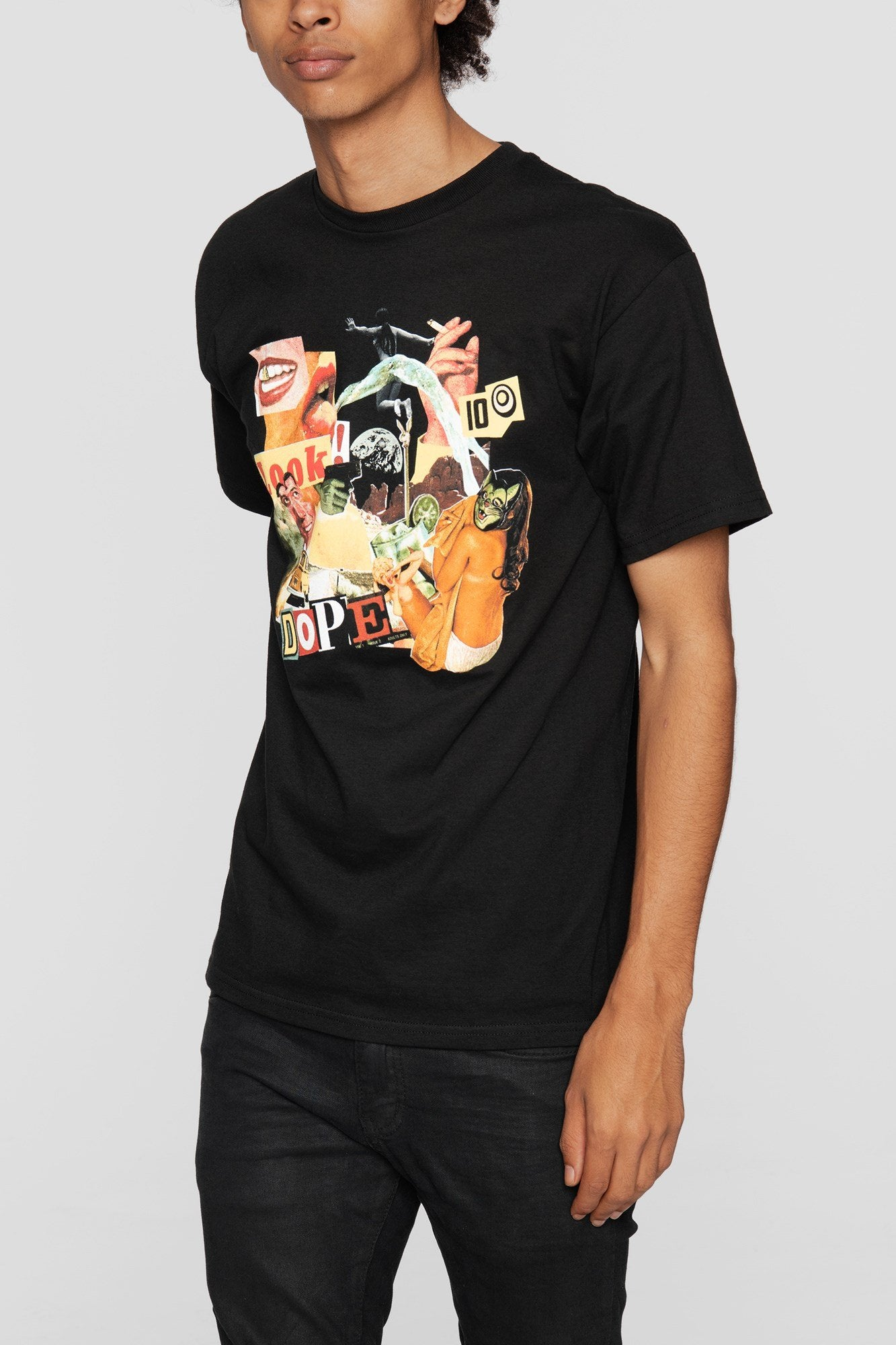 DOPE Collage Tee #Black