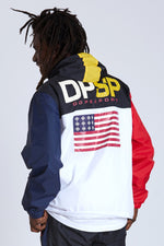 DOPE Sport Anorak nylon windbreaker #Black