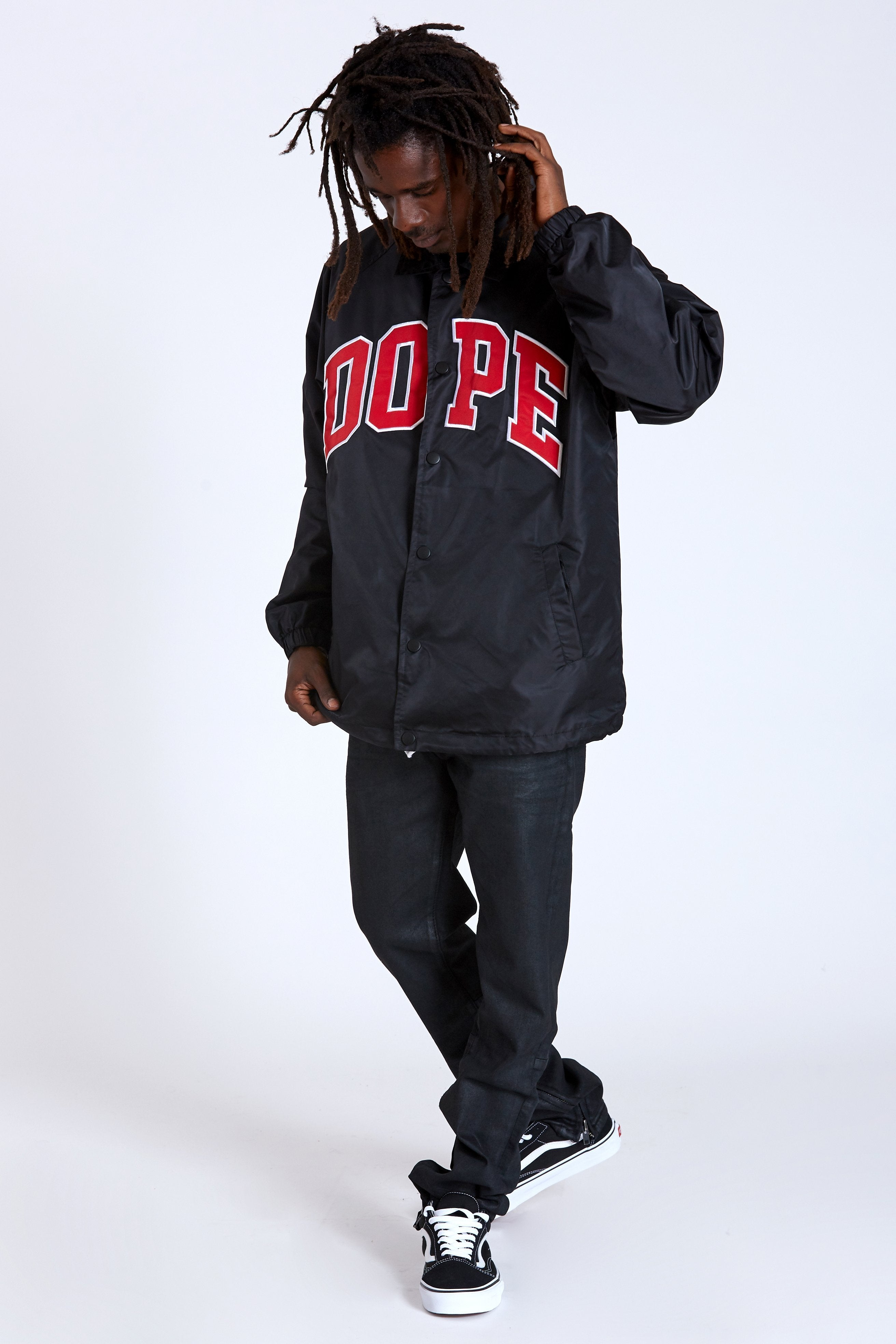 DOPE D-Wing Coach Jacket #Black
