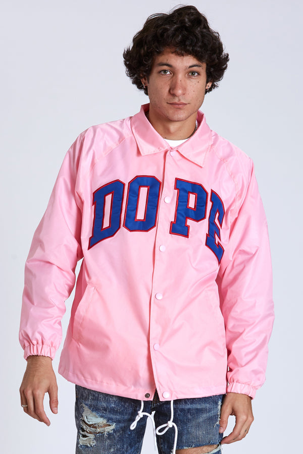 DOPE D-Wing Coach Jacket #Pink