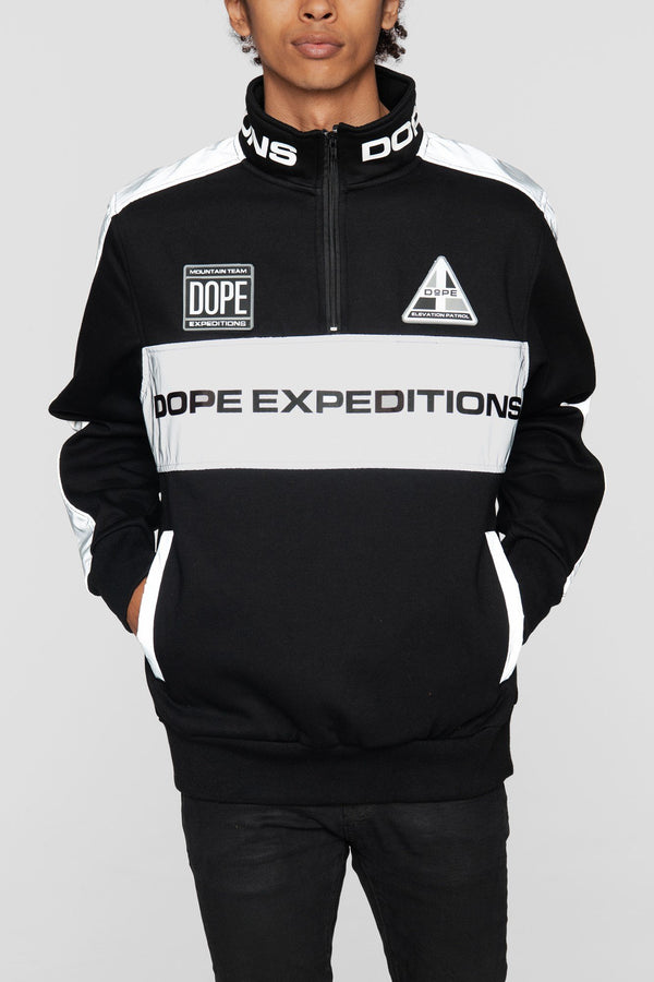 DOPE Expedition Pullover #Black