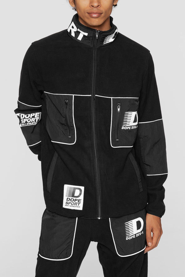 DOPE Apex Fleece Jacket #Black