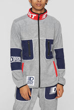 Load image into Gallery viewer, DOPE Apex Fleece Jacket #Grey
