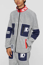 DOPE Apex Fleece Jacket #Grey