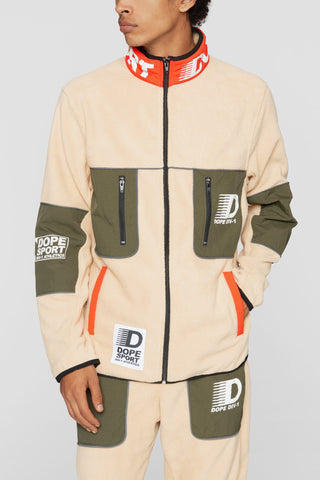 DOPE Apex Fleece Jacket #Tan