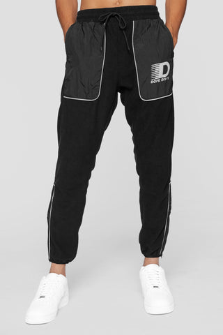DOPE Apex Tech Fleece Sweatpants #Black