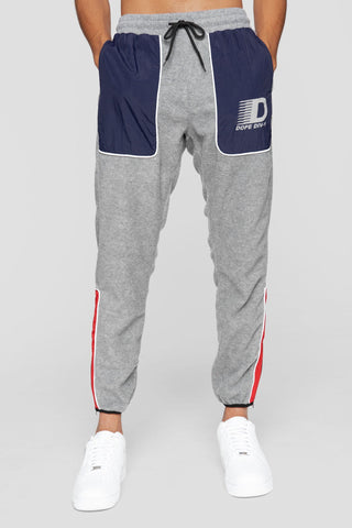 DOPE Apex Tech Fleece Sweatpants #Grey