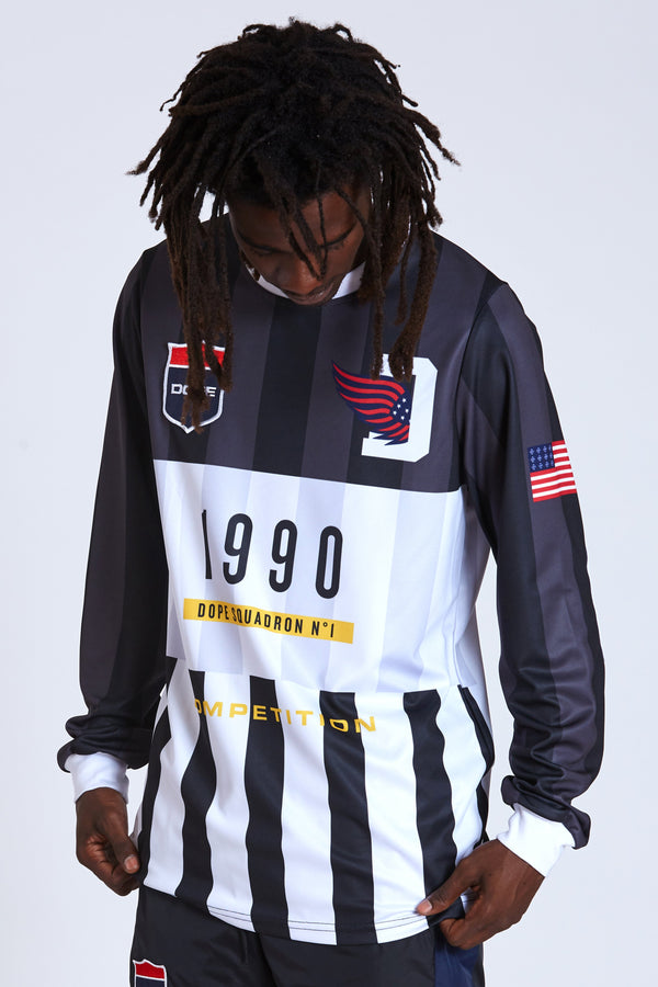 DOPE Keepers Soccer Jersey #Black