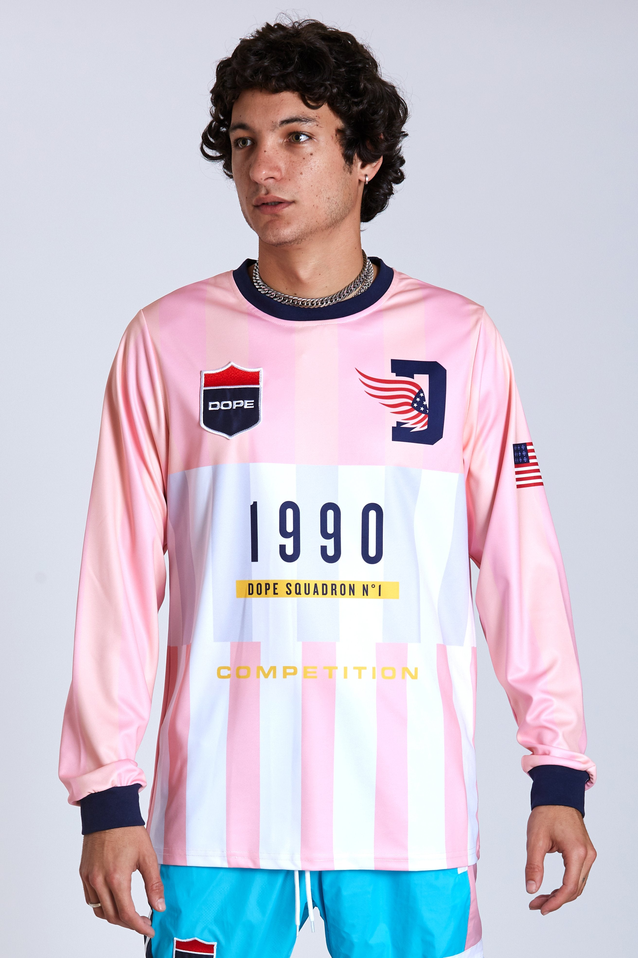 DOPE Keepers Soccer Jersey #Pink