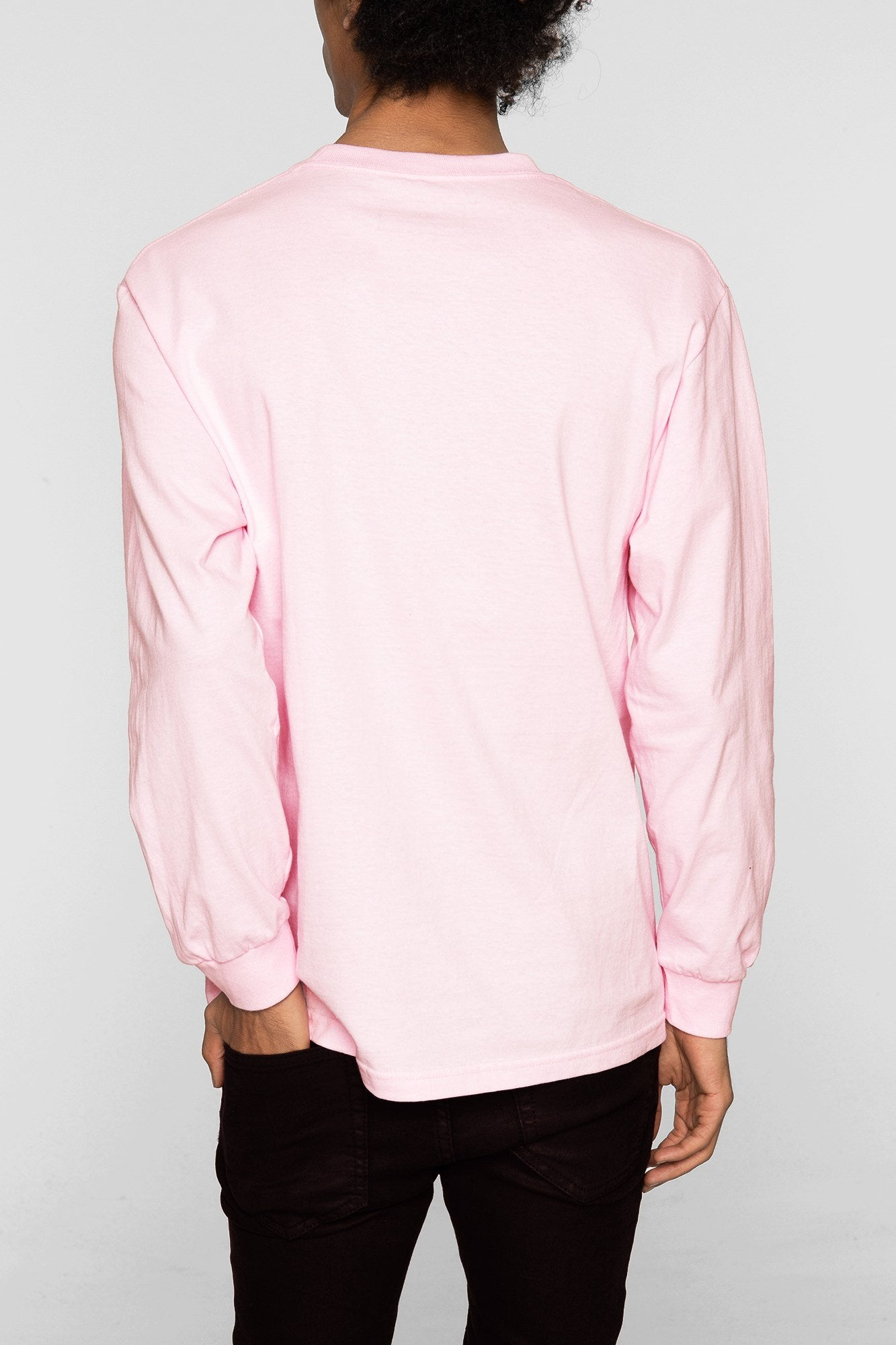 DOPE Have a Rose L/S Tee #Pink