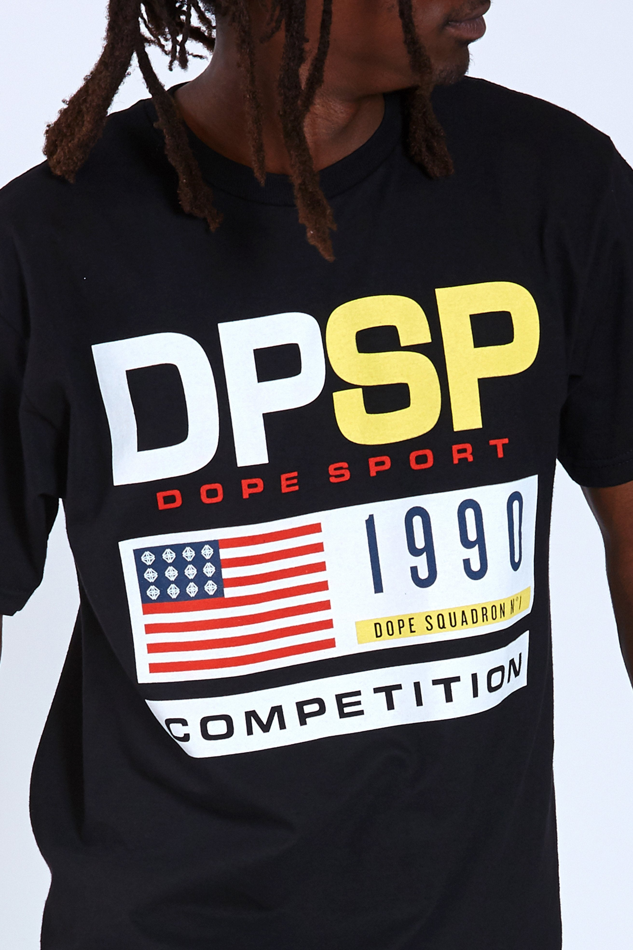 DOPE Competition Tee #Black