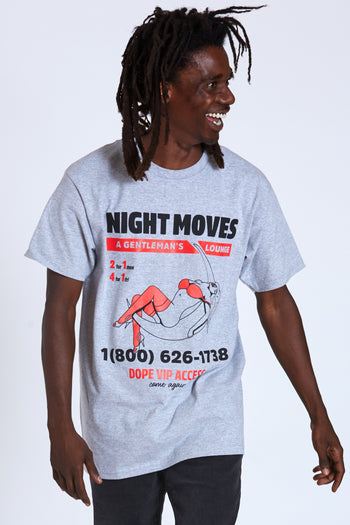 Dope Night Moves Tee #Grey