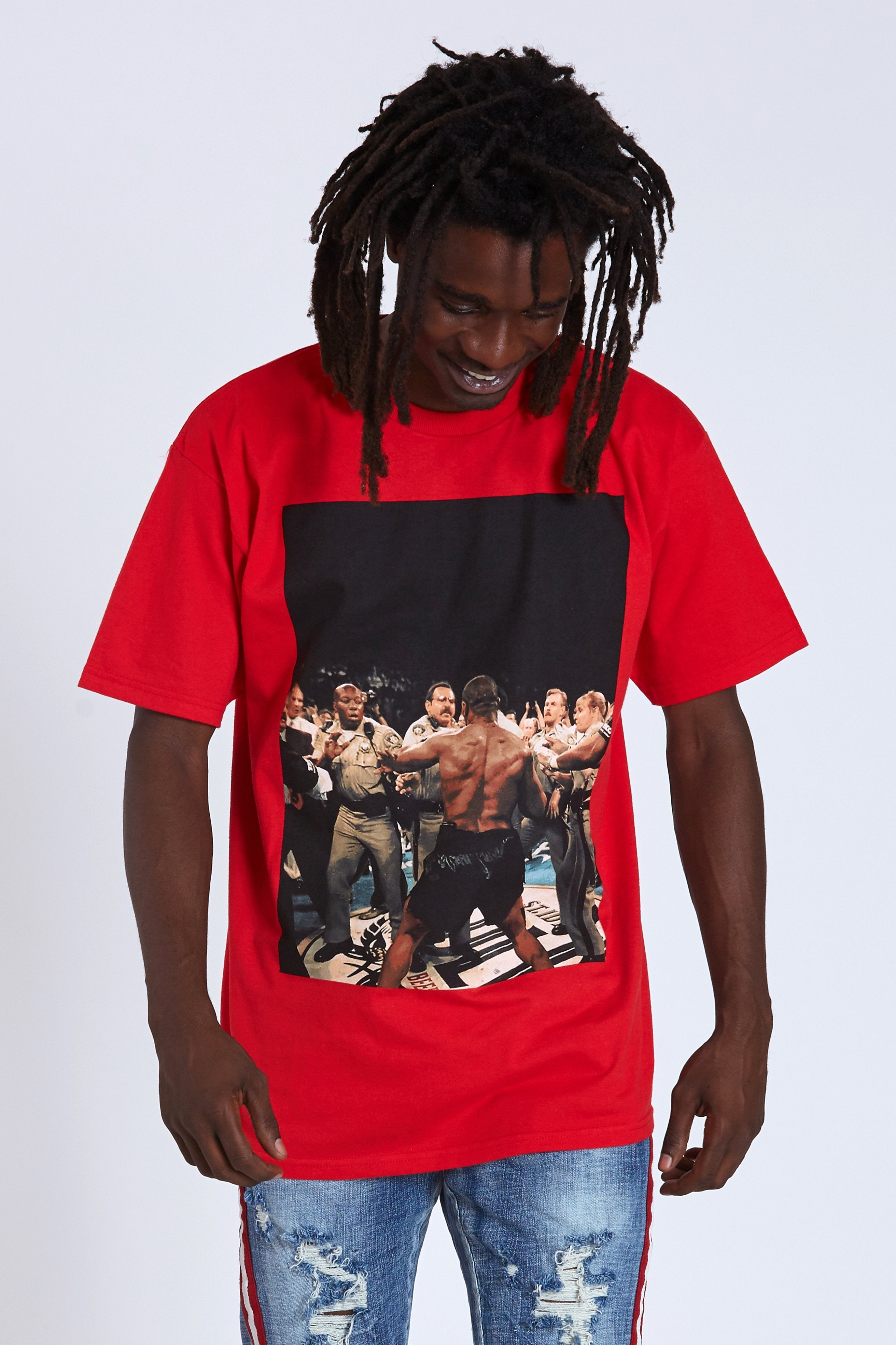 DOPE DOPE Heavyweight Tee #Red