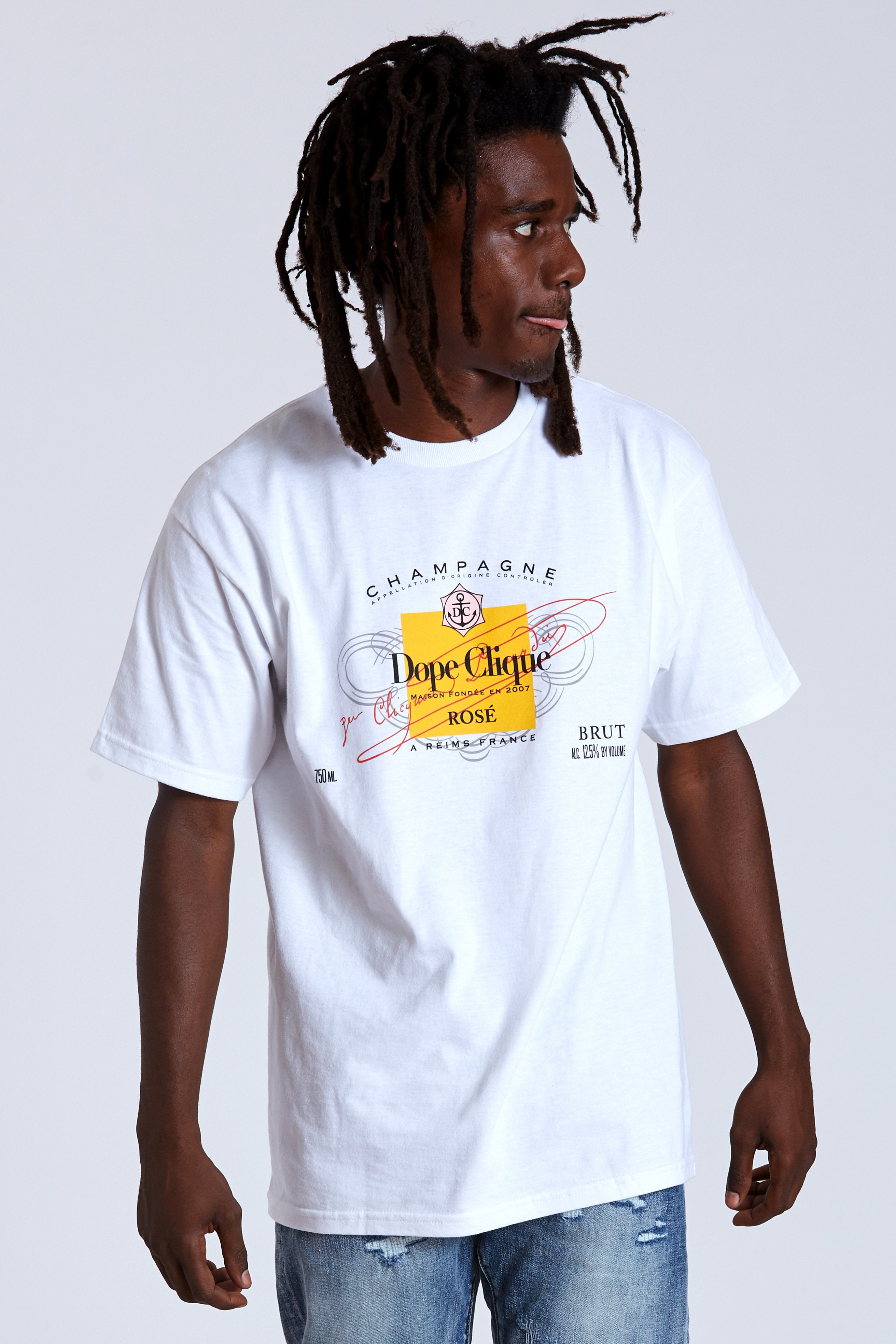 DOPE Clique Tee #White