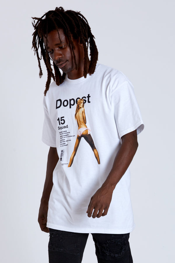 DOPE Cover Tee #White