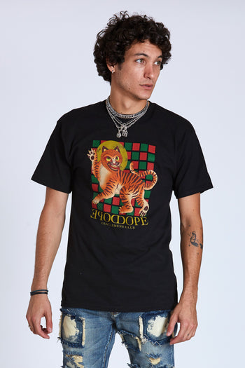 Dope Korea Tiger Tee #Black