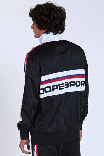 DOPE Training Day Track Jacket #Black