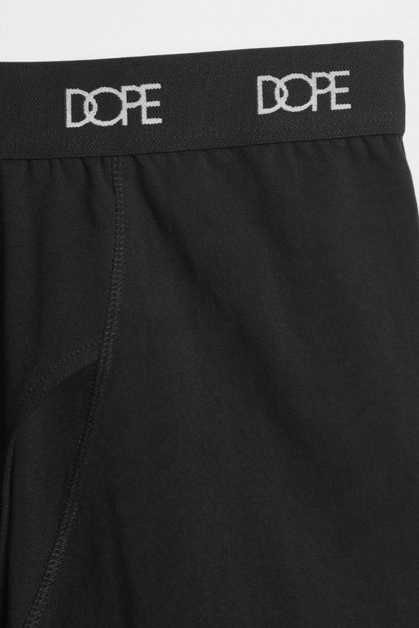 DOPE Logo Boxer Briefs #Black