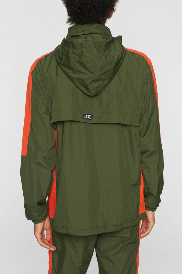 DOPE Wind-Tek Vented Pullover #Army/Orange
